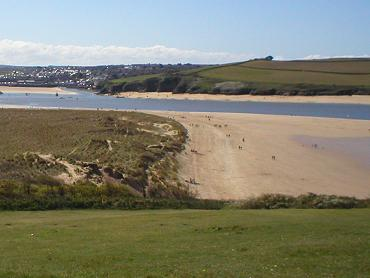 Padstow seen from Rock - 10 minutes away by ferry from our holiday accommodation
